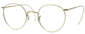 Savile Row Panto 18Kt, Cable Temples Eyeglasses