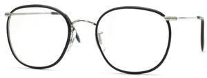 Savile Row Quadra 18Kt, Skull Temples Eyeglasses