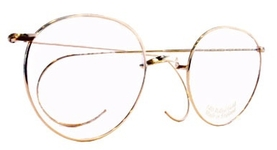 3bd116204fe9 Savile Row Windsor 18Kt, Cable Temples Eyeglasses