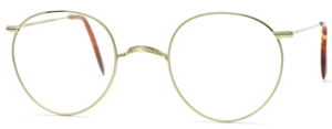 Savile Row Windsor 18Kt, Skull Temples Eyeglasses