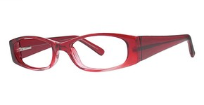 Modern Optical Gaze Burgundy