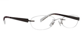 Totally Rimless TR 163 Light Brown