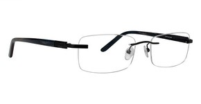 Totally Rimless TR 160 Black  01