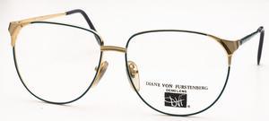 Diane Von Furstenberg 30 Shiny Gold/Green