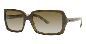 Burberry BE4075 Green Horn/Brown