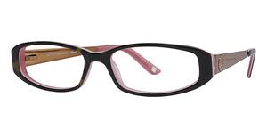Daisy Fuentes Eyewear Daisy Fuentes Peace 405 Tortoise Pink