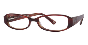 Daisy Fuentes Eyewear Daisy Fuentes Peace 403 Claret