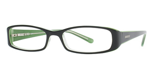 Candies C ZAHARA Black over Green
