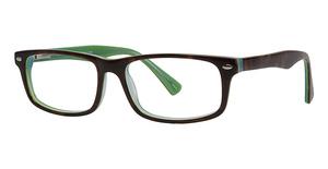 Continental Optical Imports Fregossi 381 Jade/Tortoise