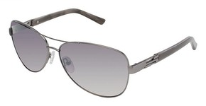 Ted Baker B491 Kaley GUNMETAL W/FLASH COATING