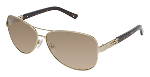 Ted Baker B491 Kaley GOLD W/FLASH COATING