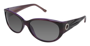 Lulu Guinness L510 Isabella Purple