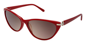 Lulu Guinness L512 Thelma RETRO RED