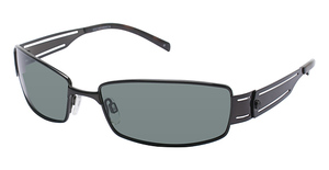 Humphrey's 586026 SHINY BLACK POLARIZED