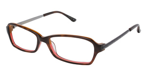 Lulu Guinness L832 Brown Tortoise