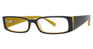 Continental Optical Imports Fregossi 383 Black/Mustard