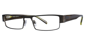 Aspex T9904 Satin Silver/Clear Brown