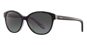Ralph RA5128 BLACK/PURPLE STRIPES