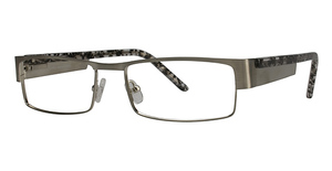 L'Amy Jacques Brushed Silver/Grey Tortoise