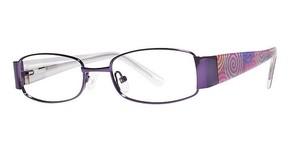 Modern Optical Honey Eyeglasses