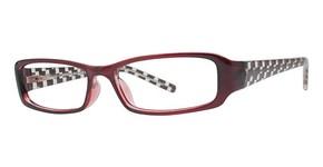 Modern Optical Illusion Eyeglasses