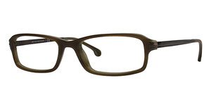 Brooks Brothers BB 726 Brown/Olive Horn