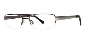 Modern Optical GVX518 Matte Brown/Matte Silver