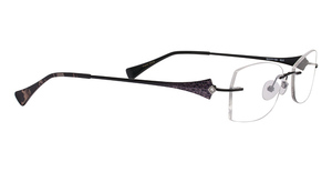 Totally Rimless TR 169 12 Black