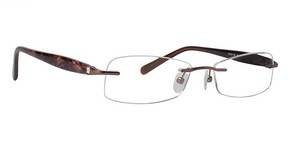 Totally Rimless TR 168 Brown