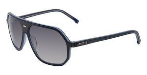 Lacoste L603S Black/Light Blue