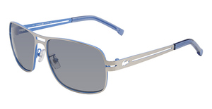 Lacoste L108S SATIN SILVER/SATIN BLUE