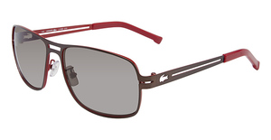 Lacoste L108S SATIN BROWN/RED