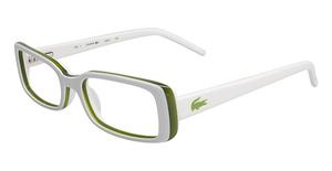 Lacoste L2612 WHITE/GREEN