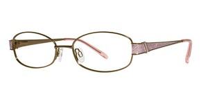 Modern Optical Aldana matte brown/rose