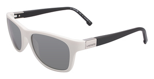 Lacoste L503S WHITE AND BLACK