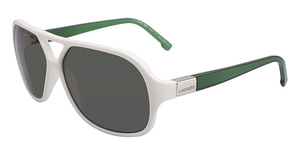 Lacoste L502S WHITE AND GREEN