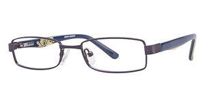Body Glove BB116 Navy with Navy/Yellow Stripe Temples