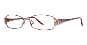 Modern Optical Luster Matte Brown