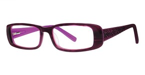 Modern Optical Wealthy Burgundy