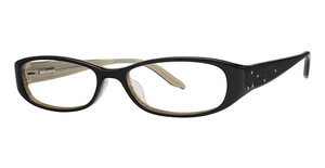Marchon M-826 Onyx/Striped Horn