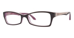 Ray Ban Glasses RX5234 BROWN-PINK EDGE