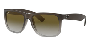 Ray Ban RB4165 Rubber Brown On Grey