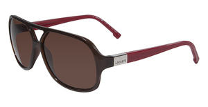 Lacoste L502S BROWN AND RED