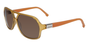 Lacoste L502S AMBER AND ORANGE