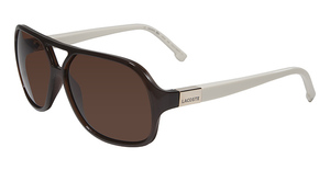 Lacoste L502S BROWN AND CREAM