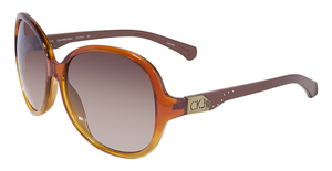 Calvin Klein CKJ707S Orange/Brown Gradient