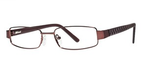 Modern Optical Bismarck Matte Burgundy