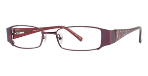 Royce International Eyewear TOC-7 BURGUNDY/SILVER TRIM