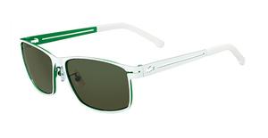 Lacoste L107S WHITE/GREEN