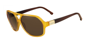 Lacoste L502S AMBER AND BROWN
